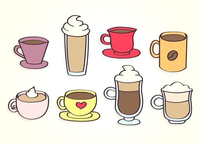686x490 Coffee Cup Graphic Coffee Mug Vector Coffee Cup Graphic Art