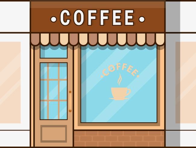 650x493 Vector Coffee Shop, Coffee Vector, Shop Vector, Vector Png And