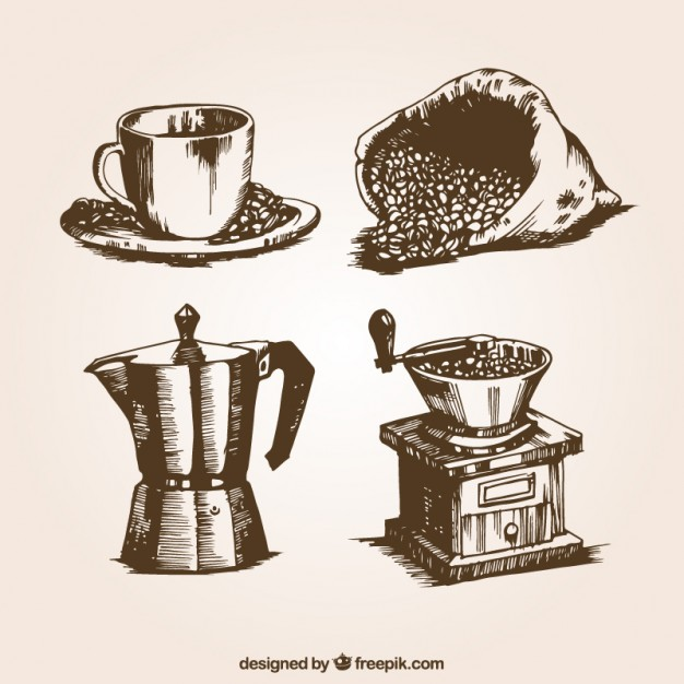 Coffee Vector Free At Getdrawingscom Free For Personal