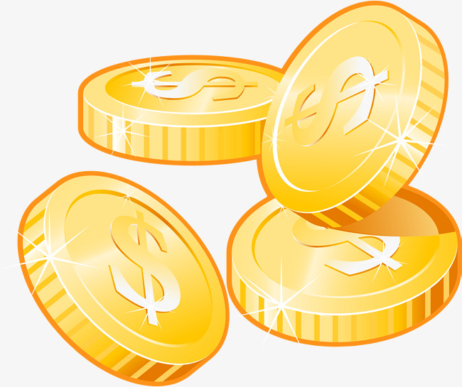 650x545 Gold Coins Vector, Gold Vector, Economic Performance, Gold Png And