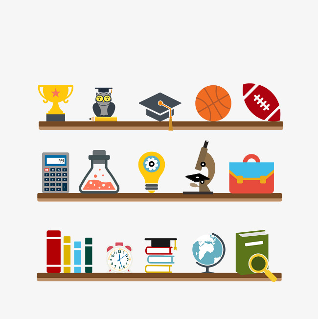 650x651 College Life, Bookshelf, Life, Leisure Png And Vector For Free