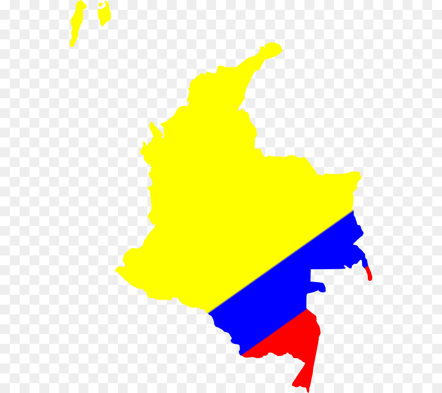 900x800 Colombia Map Clip Art