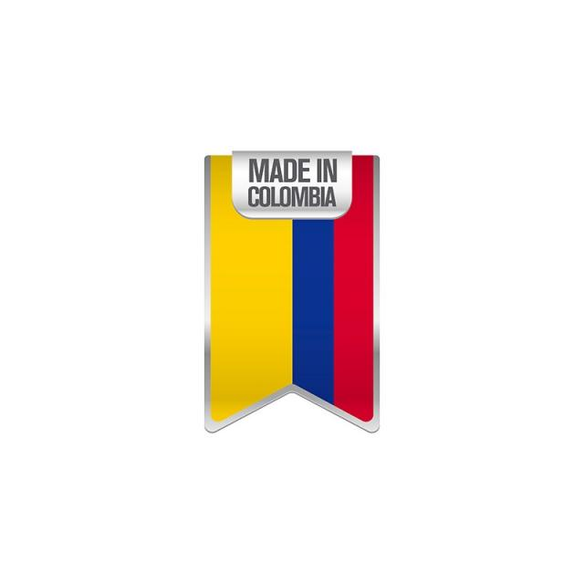 640x640 Made In Colombia, Background, Badge, Banner Png And Vector For