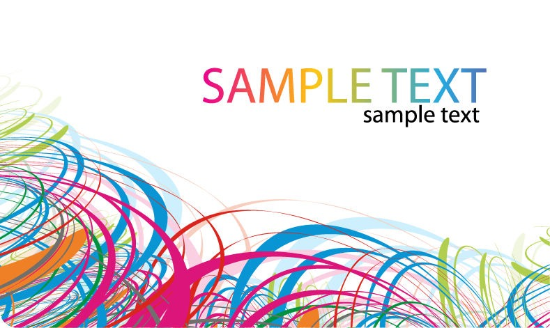789x471 Vector Abstract Color Card Free Vector Graphics All Free Web