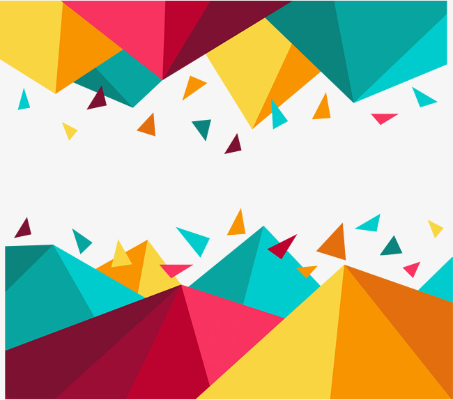 650x574 Vector Hand Painted Color Geometry, Vector, Hand Painted, Color