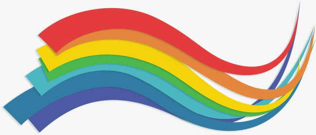 650x279 Vector Rainbow Colored Pattern, Color, Vector, Rainbow Png And