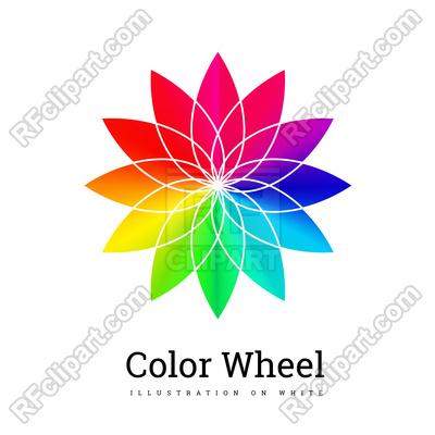 400x400 Color Wheel Background Vector Image Vector Artwork Of