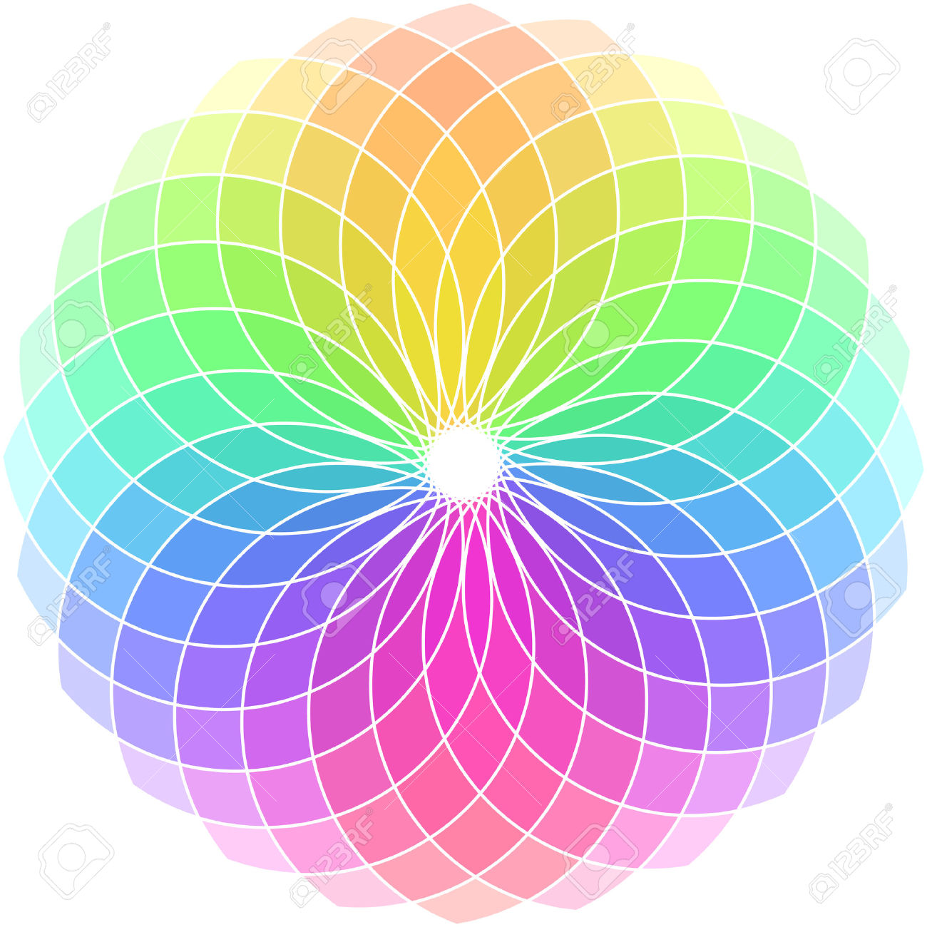 1300x1300 Color Wheel Free Clipart