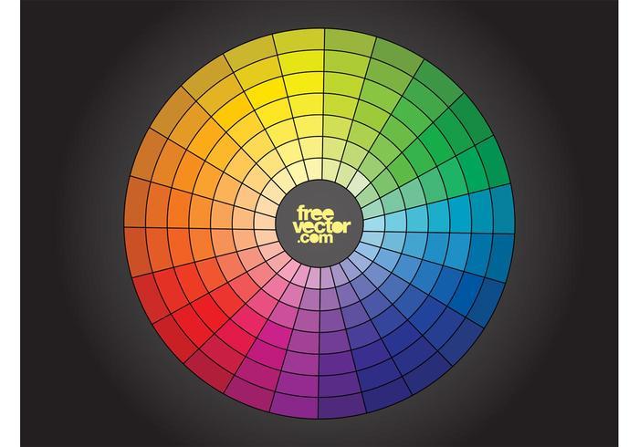 700x490 Free Color Wheel Vector