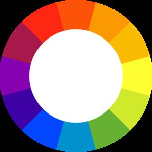 300x300 Color Wheel Clip Art