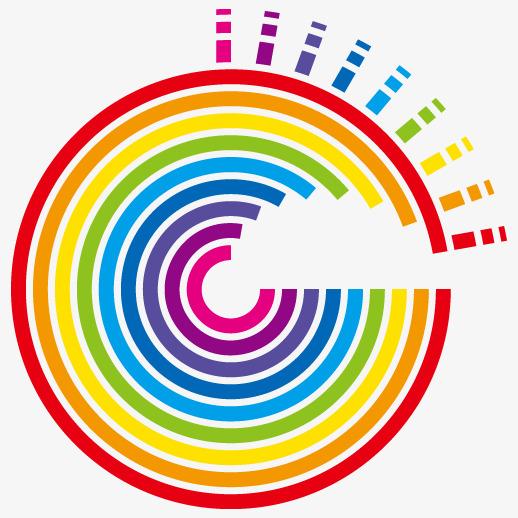 518x518 Rainbow Gradient Vector Color Wheel, Vector, Rainbow, Rainbow
