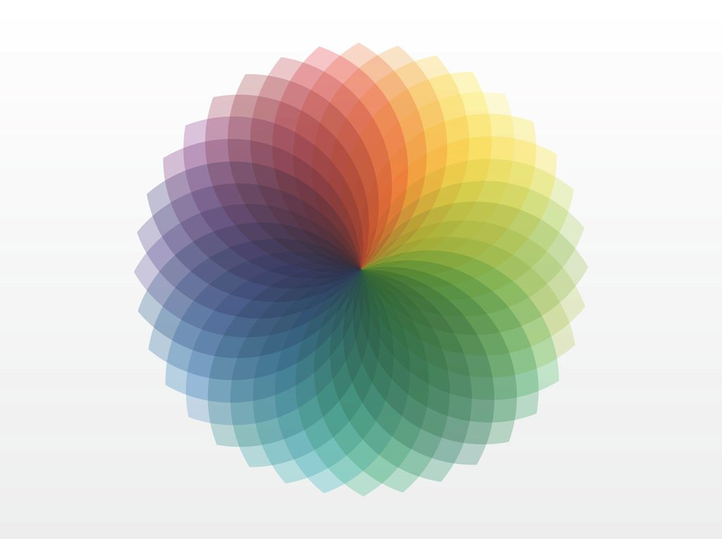 1024x765 Color Wheel Spectrum Vector Art Amp Graphics
