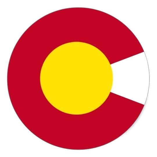 540x540 Colorado Flag Vector F7012963 Unique Colorado State Flag Vector
