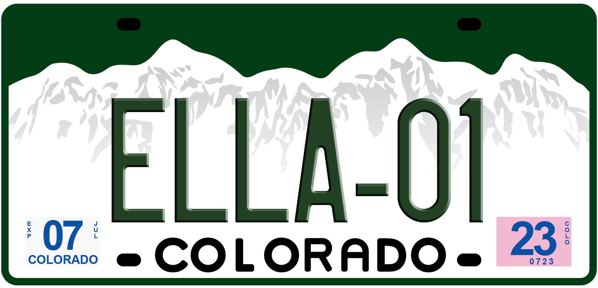 Colorado License Plate Vector at GetDrawings com | Free for personal