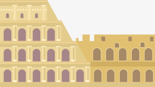 540x303 Vector Flat Colosseum, Vector, Flat, Roman Colosseum Png And