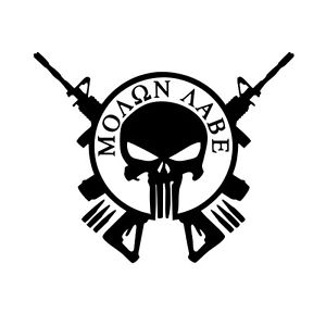 300x300 Molon Labe Vinyl Decal Sticker For Cartruck Window Come And Take
