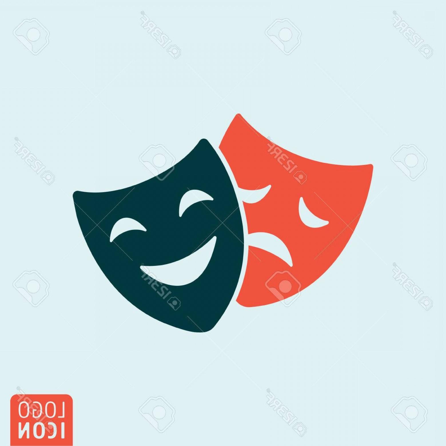 Comedy Mask Vector