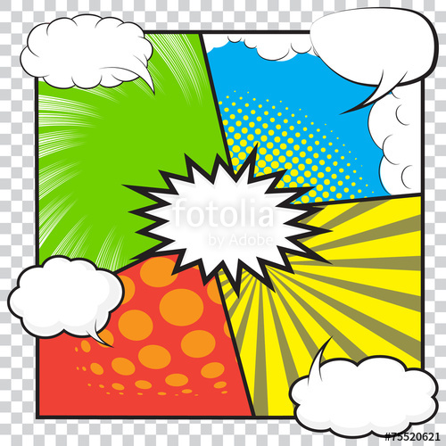 500x500 Comic Background Stock Image And Royalty Free Vector Files On