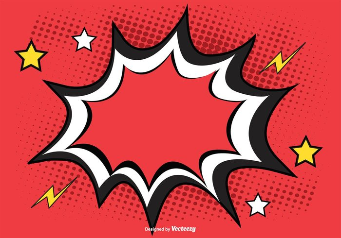 700x490 Free Vector Comic Style Background Illustration