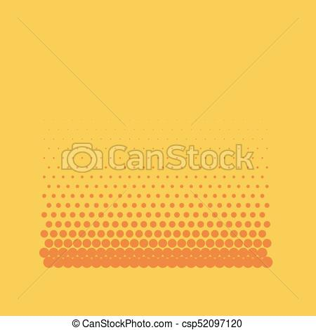 450x470 Halftone Background. Comic Background. Vector Retro Dotted