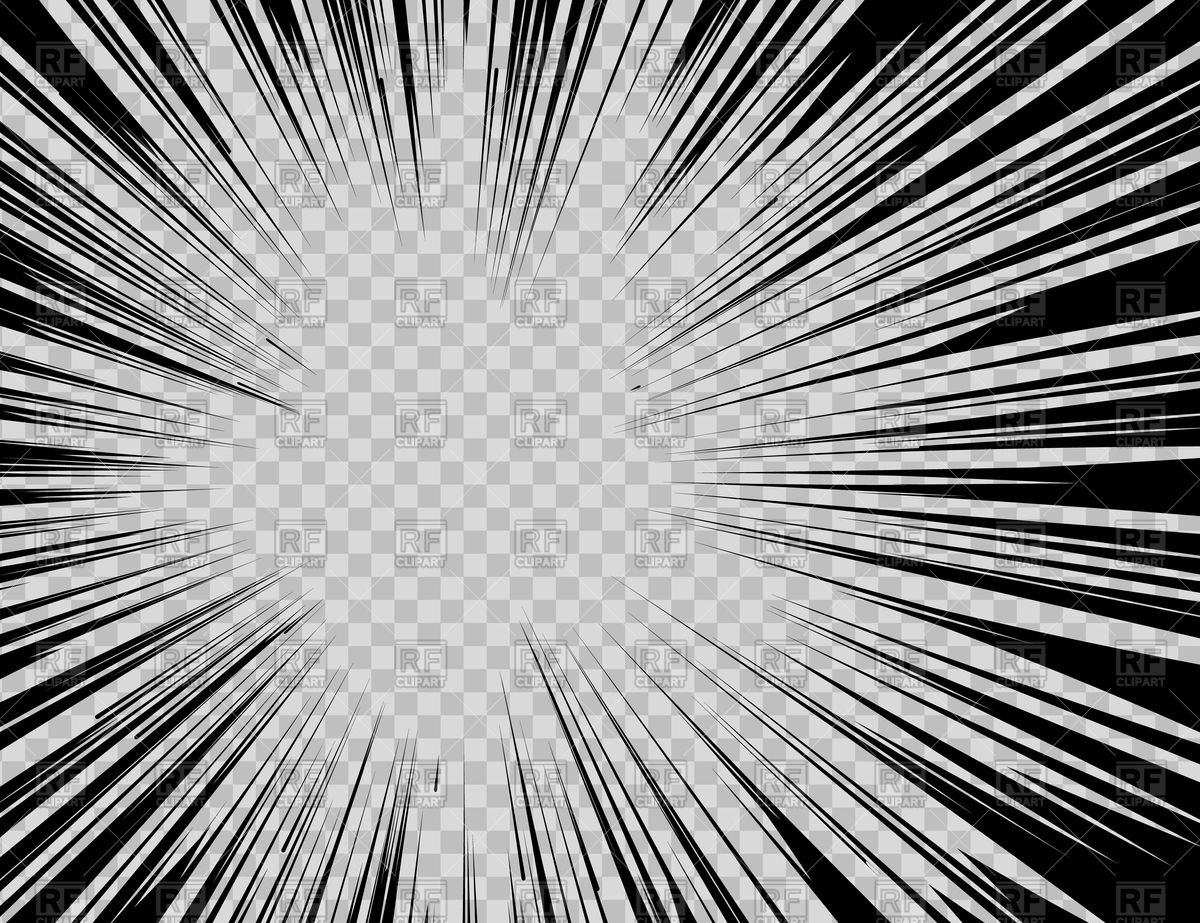 1200x923 Abstract Comic Book Flash Explosion Radial Lines On Transparent