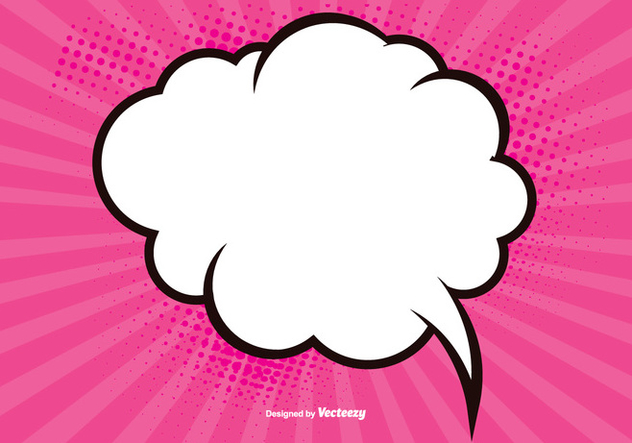 632x443 Pink Blank Comic Background Free Vector Download 389929 Cannypic