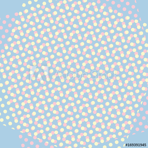 500x500 Warm Pop Art Retro Comic Background Vector
