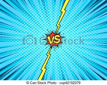 450x357 Comic Book Versus Template Background. Comic Book Versus Template