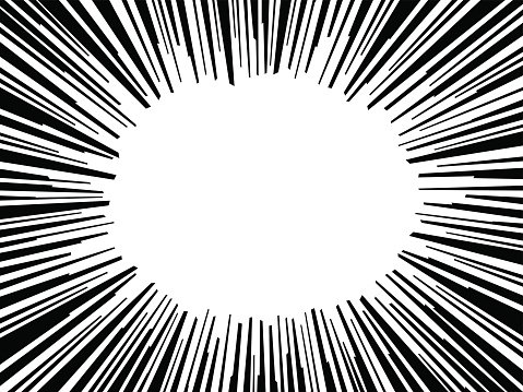 479x359 Abstract Comic Book Flash Explosion Radial Lines Vector