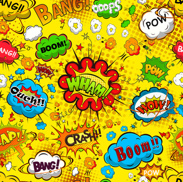370x368 Comic Book Speech Bubbles Free Vector Download (4,411 Free Vector