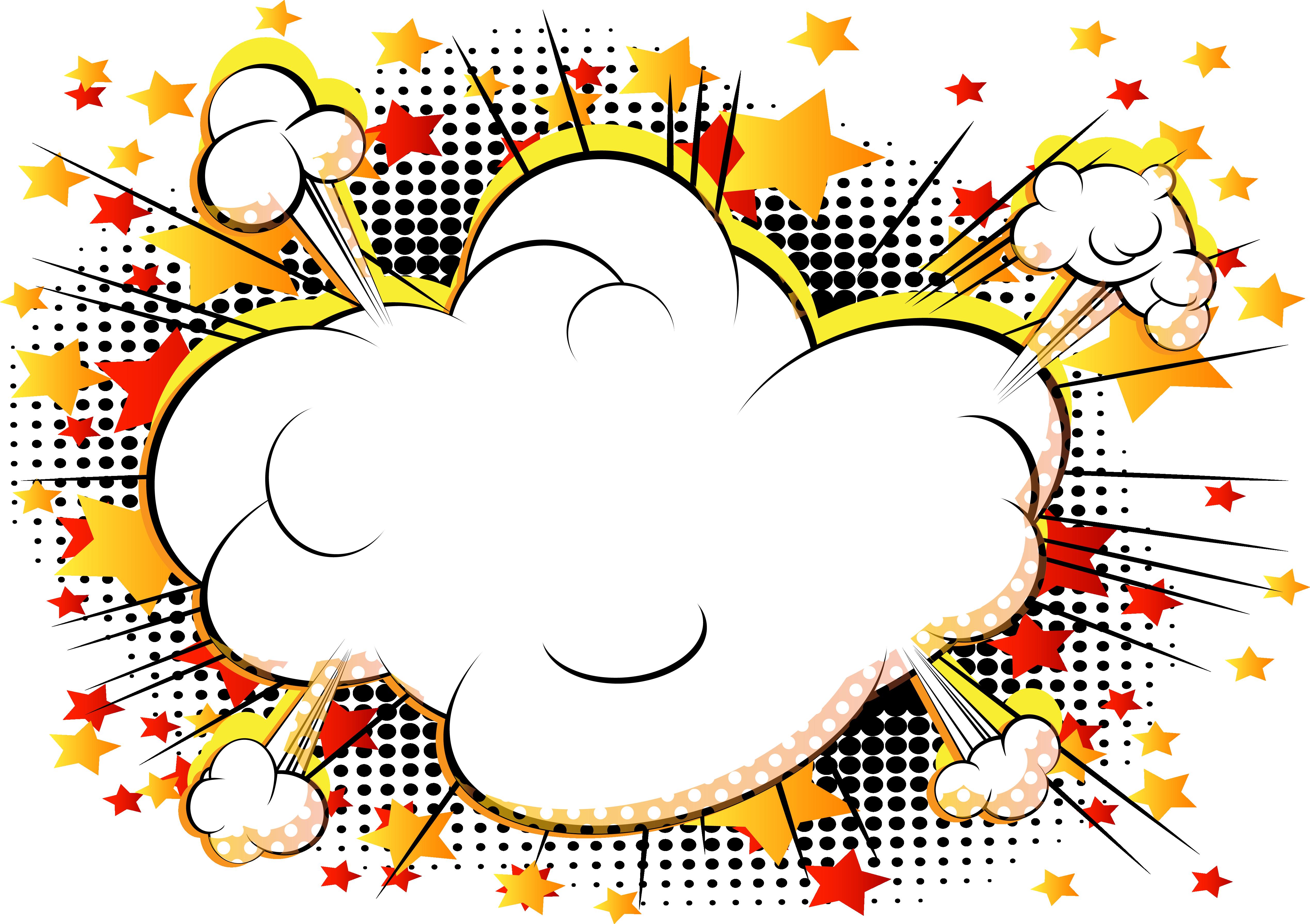 5079x3582 Comics Cartoon Explosion Comic Book