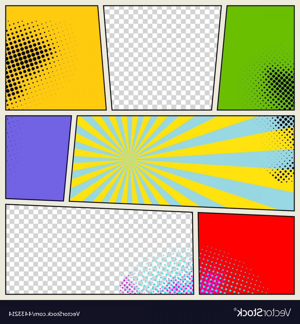 1200x1296 Retro Comic Book Background Vector Shopatcloth