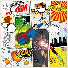 236x236 Comic Book Speech Bubble ,pop Art Background Stock Vector
