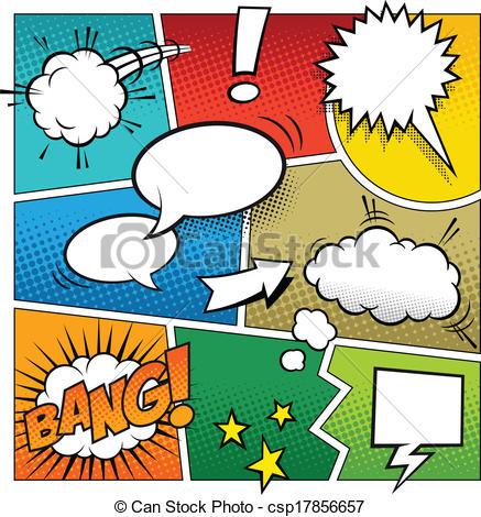 437x470 Color Comic Book