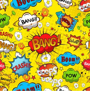 363x368 Comic Book Speech Bubbles Free Vector Download (4,411 Free Vector