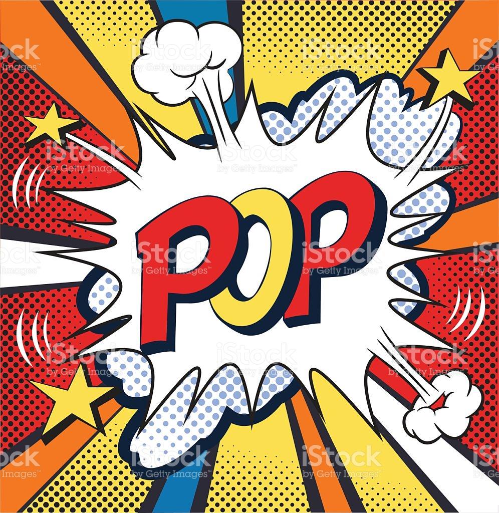 996x1024 Pop Art Clipart Comic Book