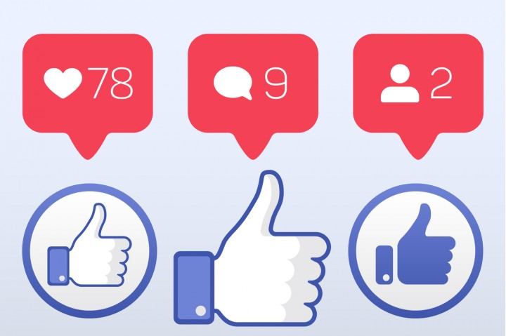 720x479 Thumb Up, Like Follower Comment Icons Vector Set By Microvector