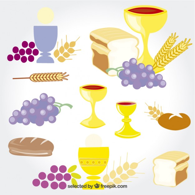 626x626 First Communion Elements Vector Free Download