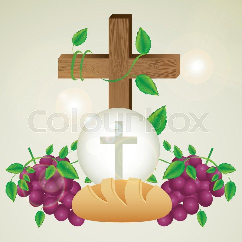 800x800 Illustration Of Jesus Christ, Eucharist And The Sacrament Of