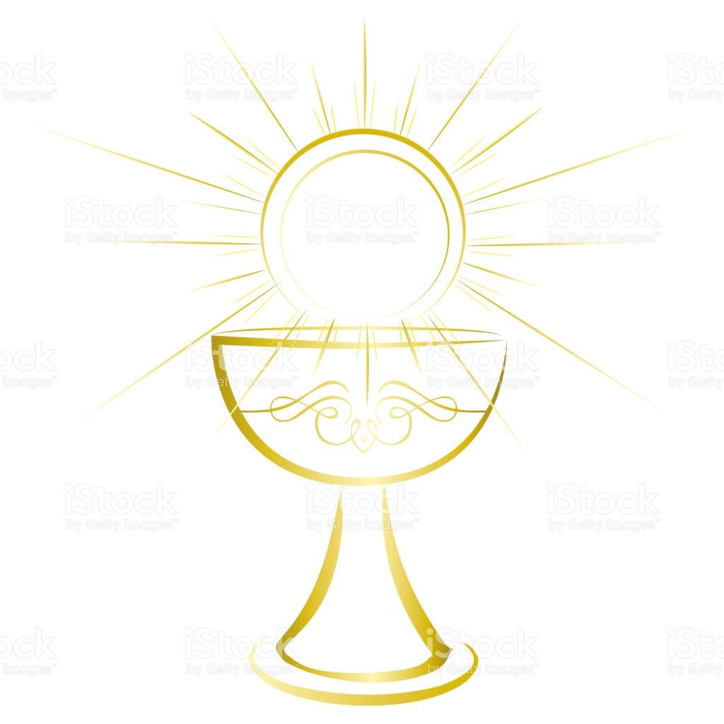 1024x1024 First Communion Symbols Clip Art First Holy Communion Symbol Gold