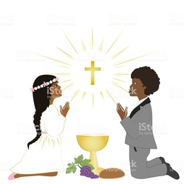 260x260 Download First Holy Communion Vector Clipart Eucharist First