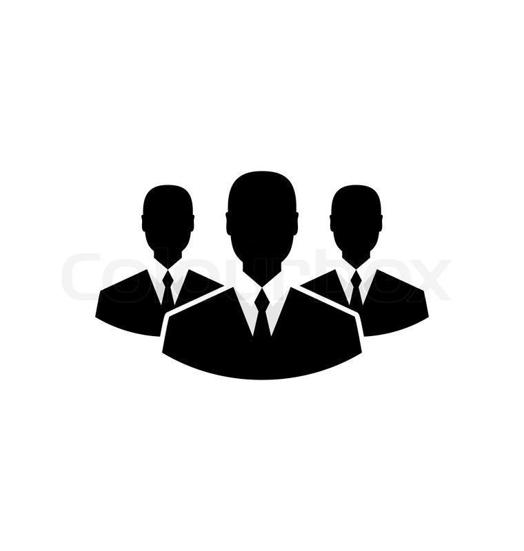 760x800 Illustration Team Icon, Community Business People