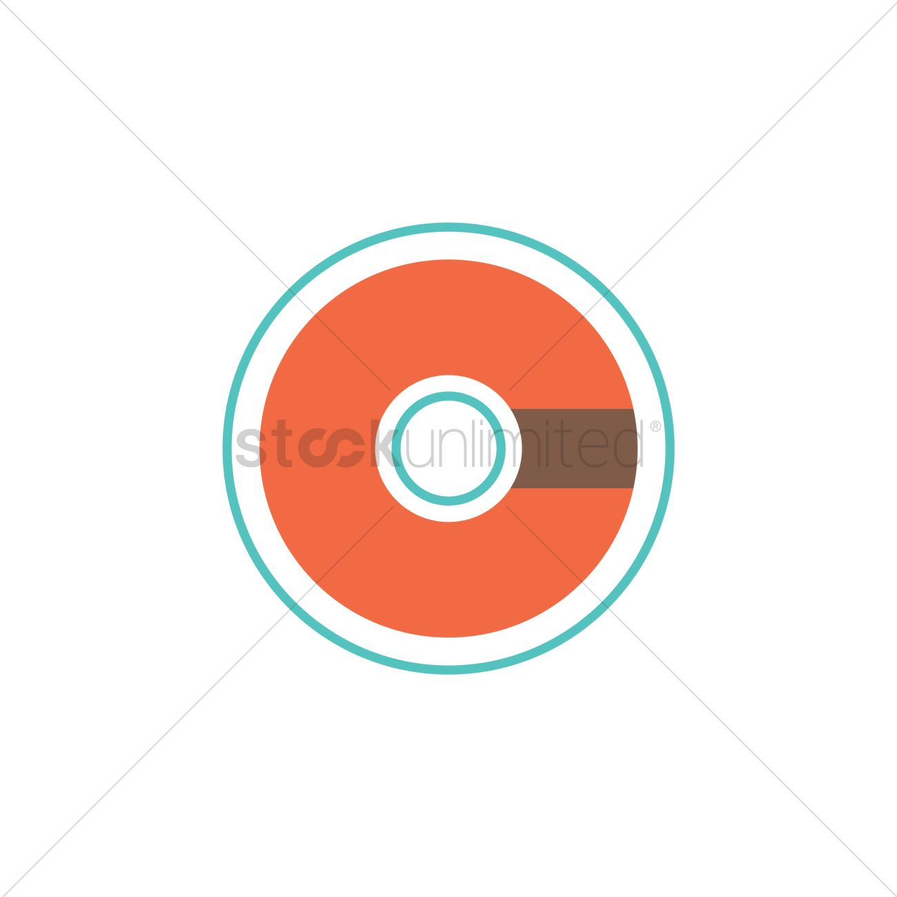 1300x1300 Compact Disc Vector Image