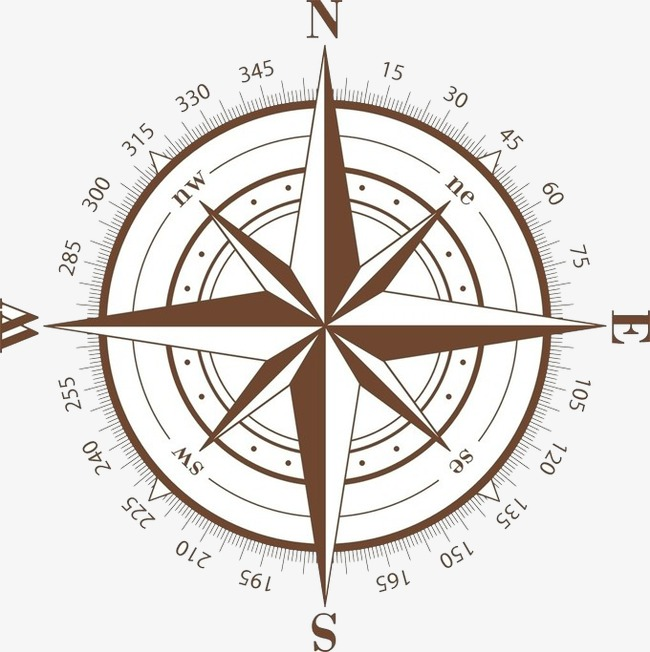 650x652 Compass Vector Material Free Download, Compass, Retro, Simple Png