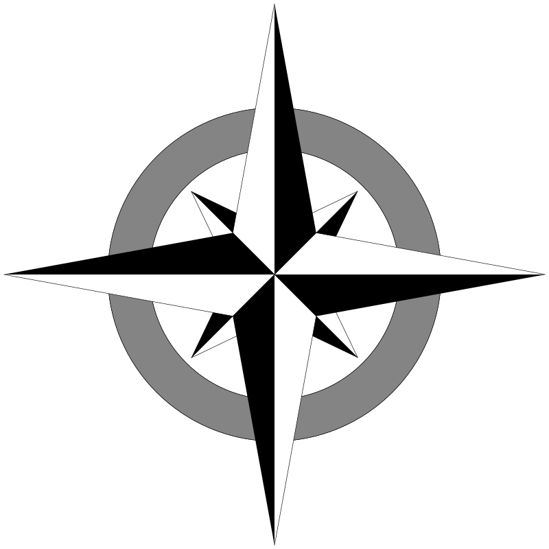 800x800 Collection Of Free Compass Vector Simple. Download On Ubisafe