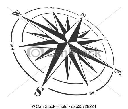 450x385 Windrose Direction Compass Free Vector Graphic On Pixabay