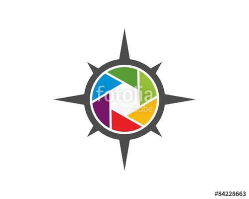 500x400 Photography Compass Logo Stock Image And Royalty Free Vector