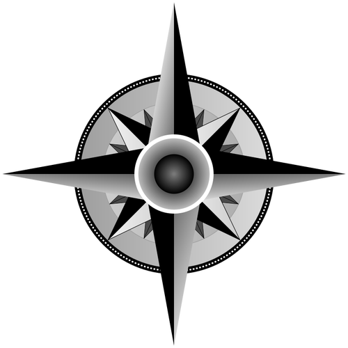 500x500 Compass Rose Vector Drawing Public Domain Vectors