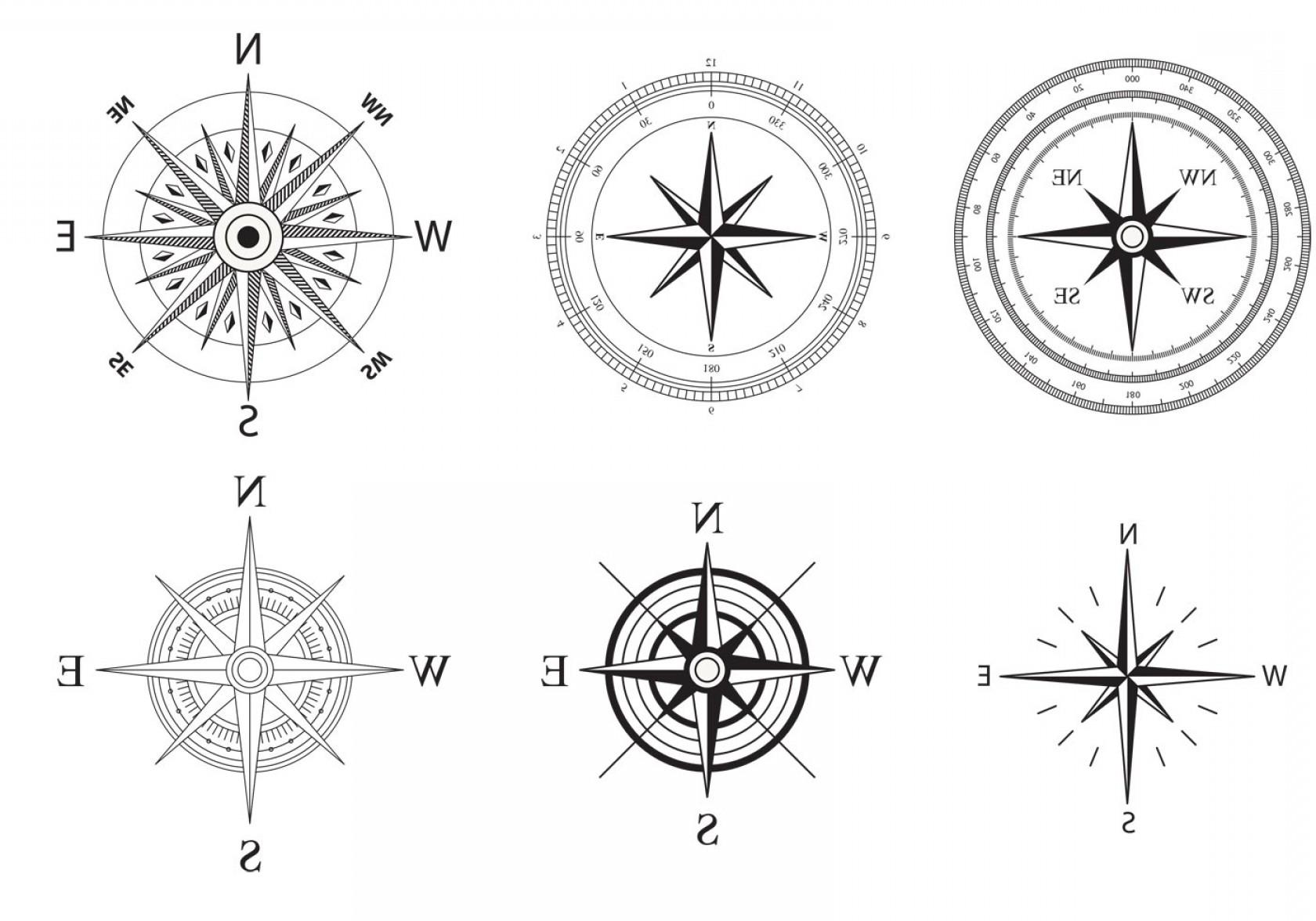 1680x1176 Wind And Nautical Compass Rose Vectors Lazttweet