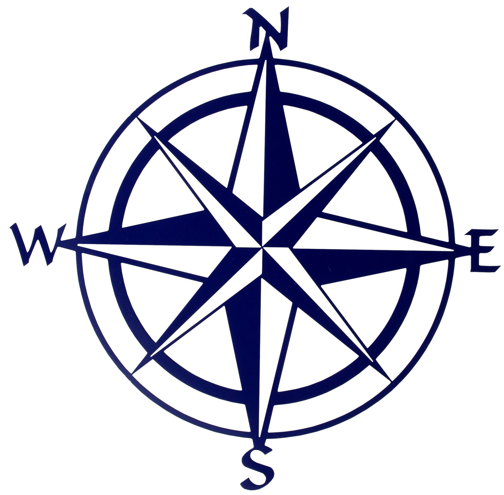 Compass Rose Vector Art